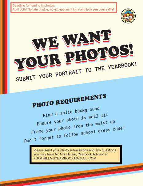 Submit Your Yearbook Photos!